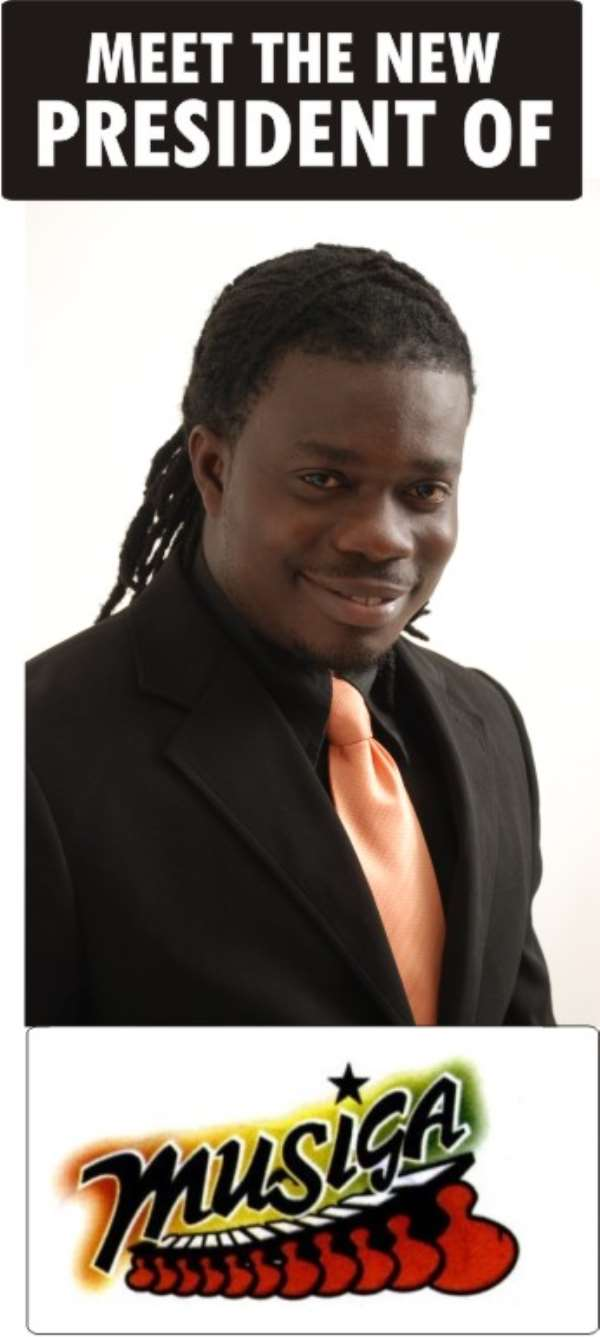 BREAKING NEWS:  Obour is the 7th President of MUSIGA