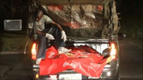 Victims of the explosion were taken to a morgue in the Nigerian capital