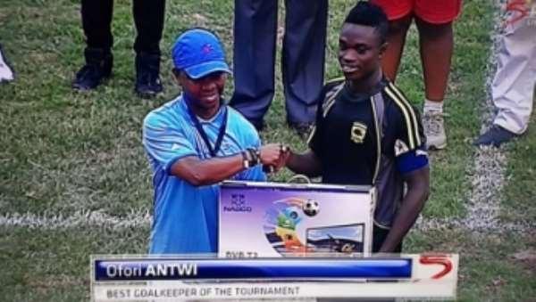 Asante Kotoko goalie Eric Ofori Antwi