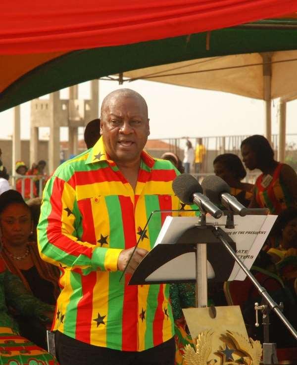 President Mahama calls for release of land for development