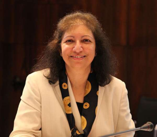 Ms Punam Chuhan Pole, World Bank, Lead Economist, African Region