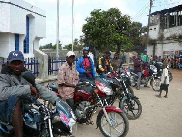 Police arrest motorbike riders