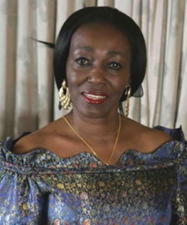 Nana Konadu Agyeman Rawlings, founder of the 31st December Women's Movement