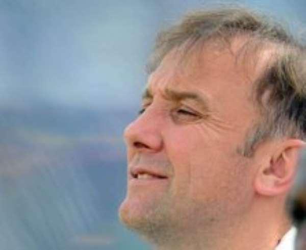 Goran Stevanovic - Black Stars Coach