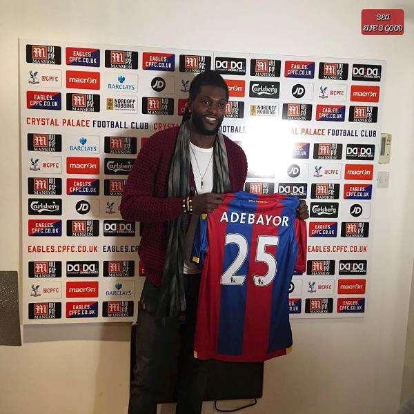 Crystal Palace Snaps Emmanuel Adebayor On A Free Transfer