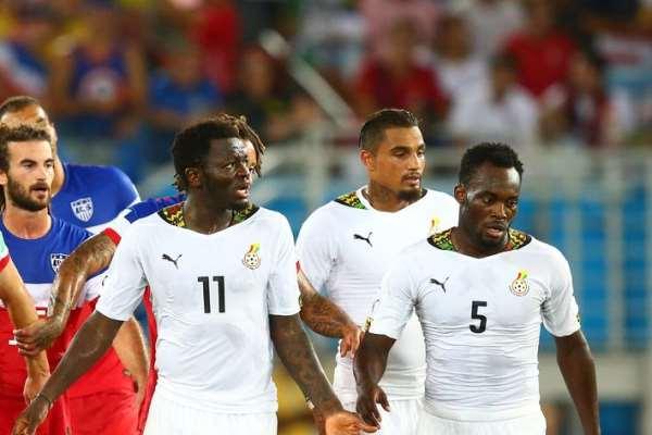 Ghana and AC Milan duo of Essien Muntari