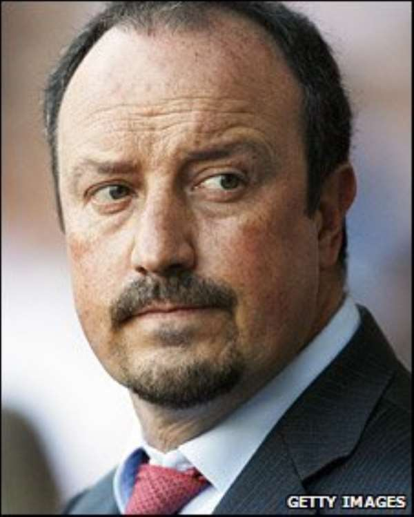 Liverpool Manager, Benitez