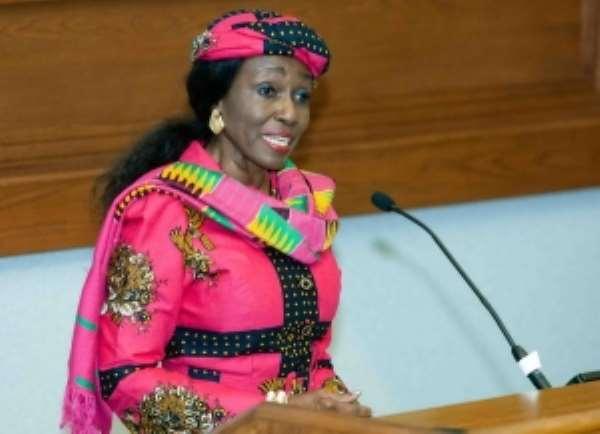 Nana Konadu charges women to take risks and be creative