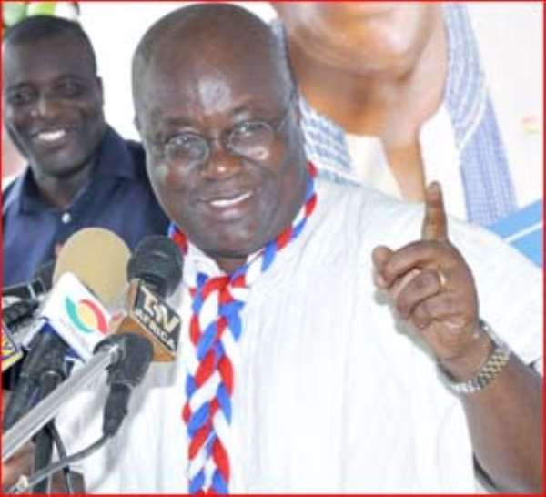 Nana Akufo-Addo Remains our Hope in 2016