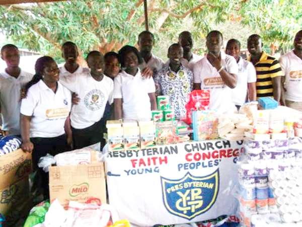 Faith YPG donates to Christ Faith Foster Home