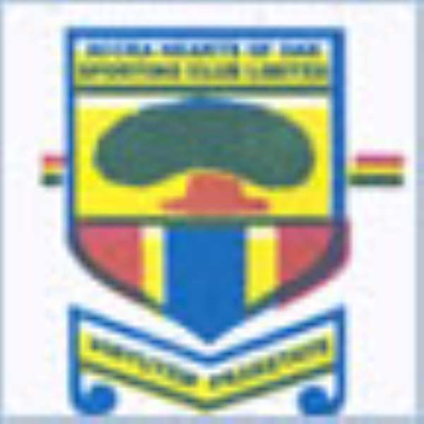 Hearts of Oak Suspends Three Players