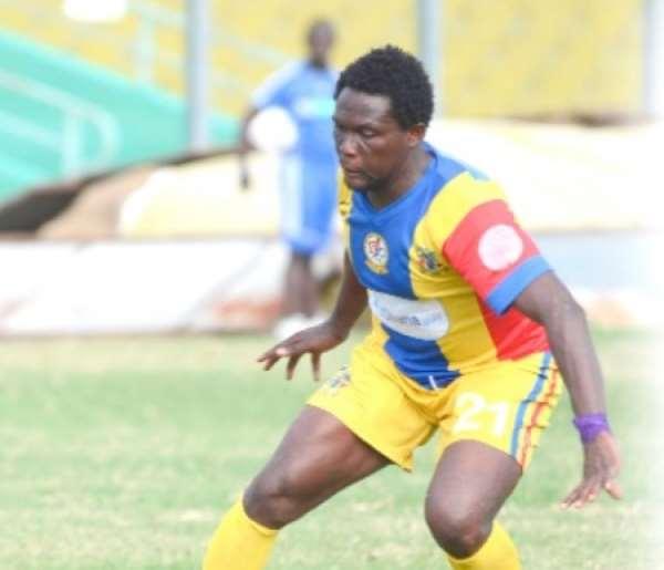 Gilbert Fiamenyo promises to show genius at Hearts this season