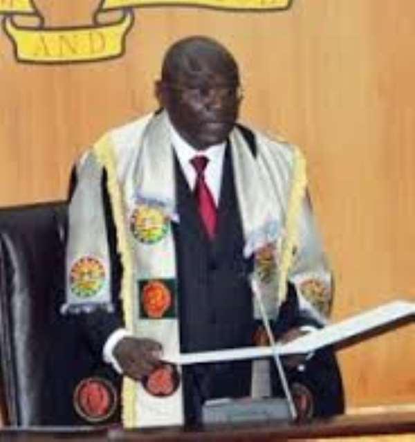 Speaker Adjaho sworn-in as President of Ghana