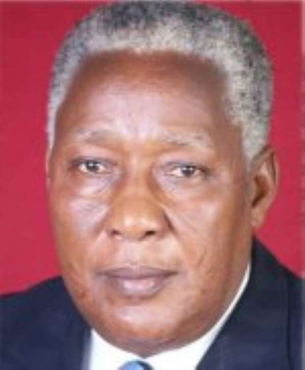 Mr E.T.Mensah - MP for Ningo, Prampram