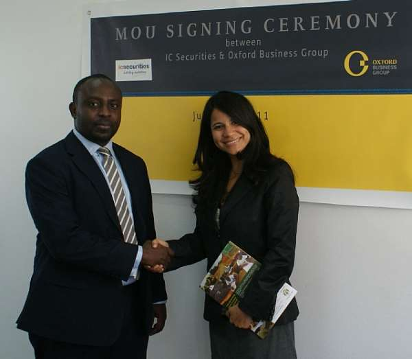 GHANA: OXFORD BUSINESS GROUP TEAMS UP WITH IC SECURITIES FOR KEY ANALYSIS OF MARKETS IN FIRST-TIME REPORT