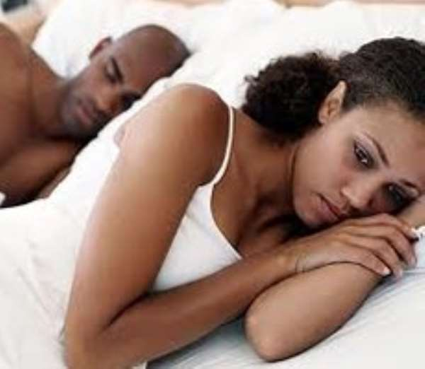 Couples should discuss their sexual needs with each other, and not involve family and friends