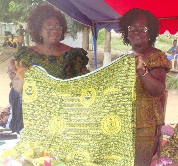 Mangoase SHS unveils school cloth