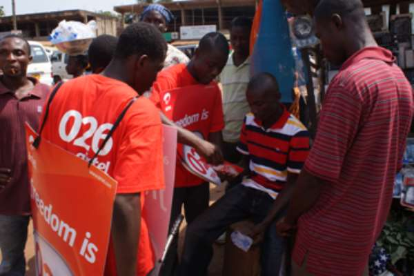 Airtel hits streets with products