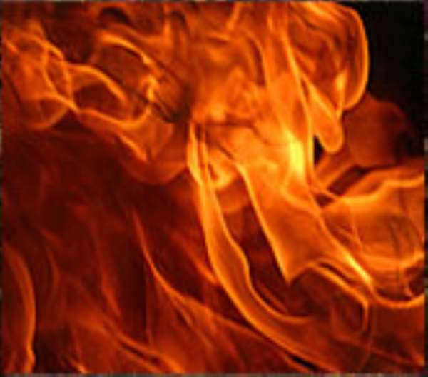 Fire guts radio station