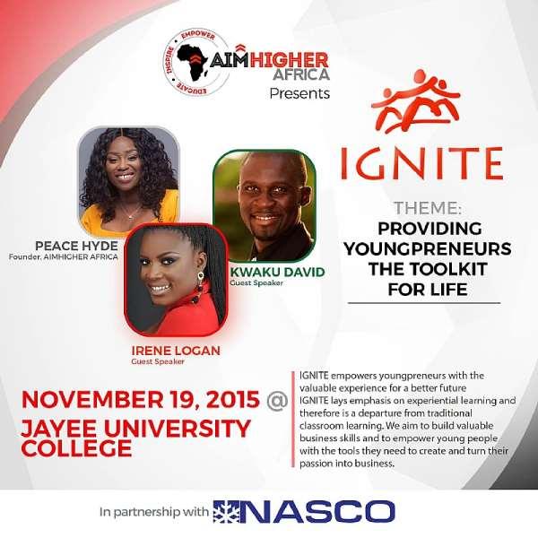 Aim Higher Africa's IGNITE Goes To Jayee University