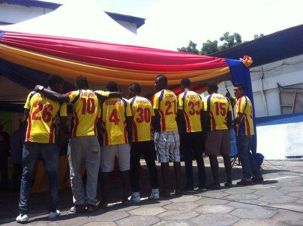 Hearts of Oak unveil EIGHT new players for next season