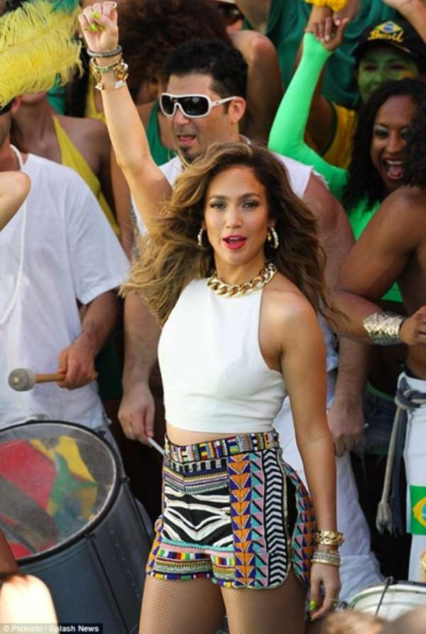 "Jennifer Lopez releases official World Cup song We Are One ""Ole Ola"""