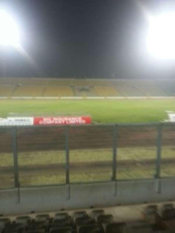 Flood lights at the Baba Yara Sports on test ahead of long-awaited Jagodina friendly
