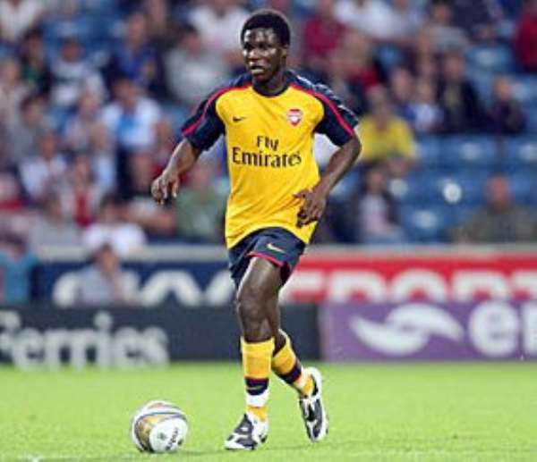 Frimpong wants to play for Ghana