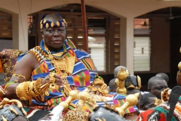 Asantehene Nana Osei Tutu II