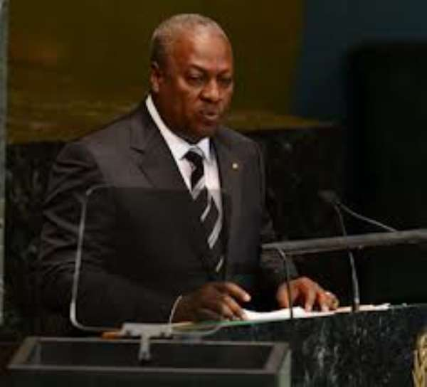 MAHAMA ORDERS PROBE INTO MISSING GH¢600,000