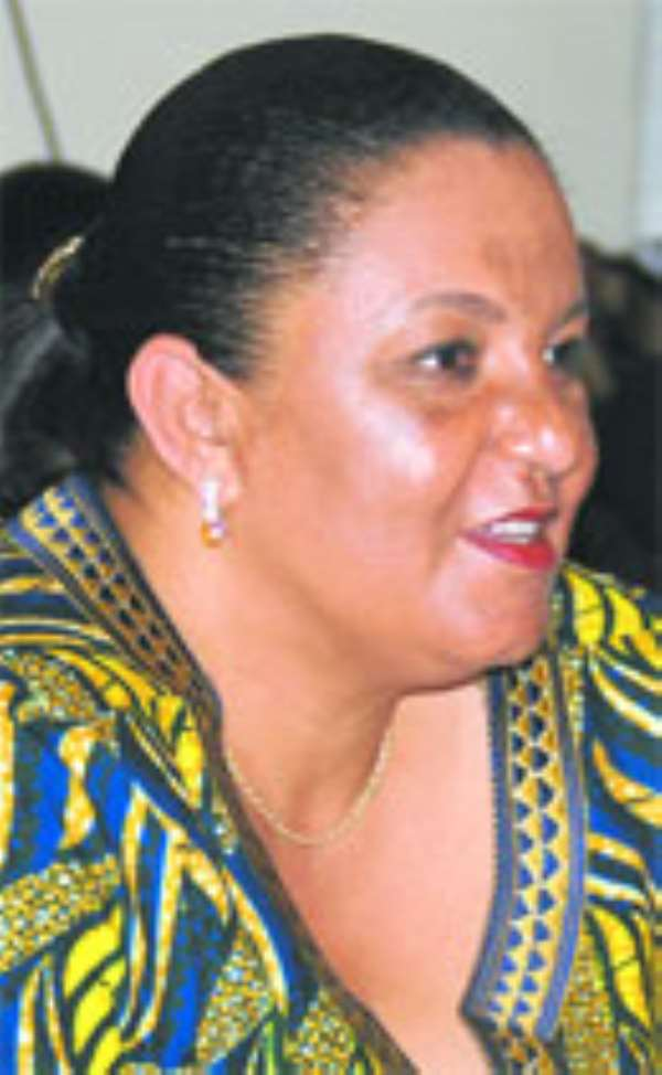 Ms. Hannah Tetteh, Trade and Insutry Minister