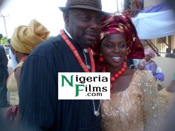 Photos : Segun Arinze's late mother-in-law burial