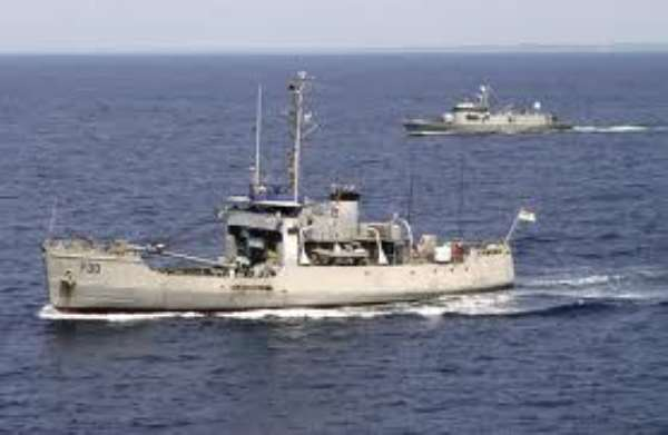 Ghana Navy receives two ships to augment fleet