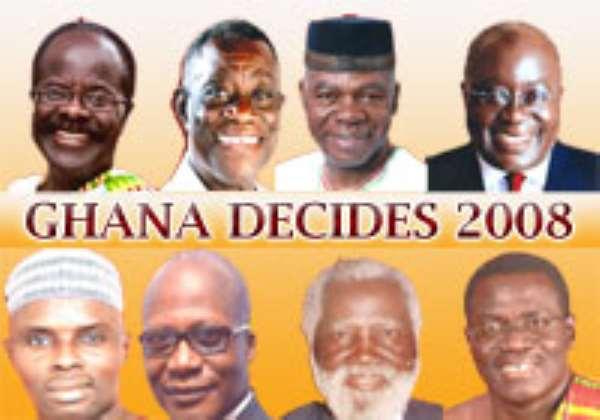 Election in Ghana December 2008