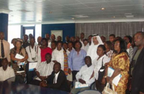 Ghana business delegation visit Jebel Ali Free Zone