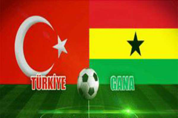 Ghana will play Turkey in a friendly tonight