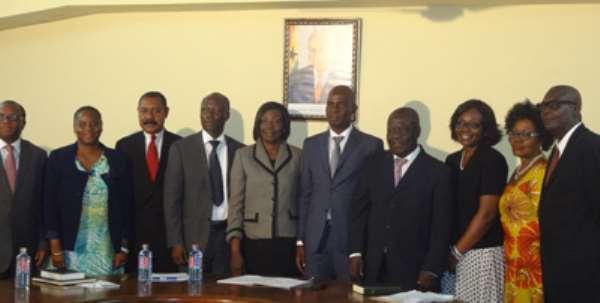 Minister Inaugurates GIPC Board