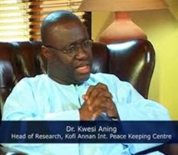 Dealing with crimes: go beyond the statistics - Dr. Aning