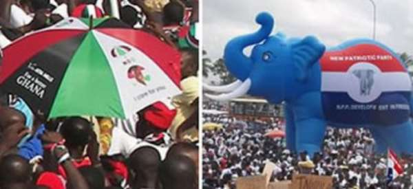 NPP/NDC Footsoldiers And Grassroots: A Derogatory Term For Political Loyalists