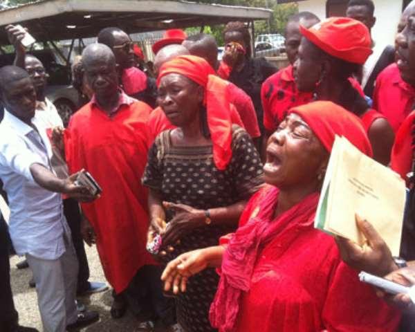 Kejetia Women Weep In K'si