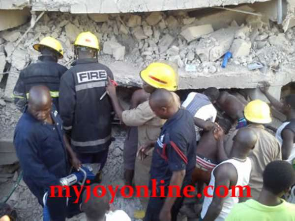 Father, daughter die in tragic building collapse, two others severely injured