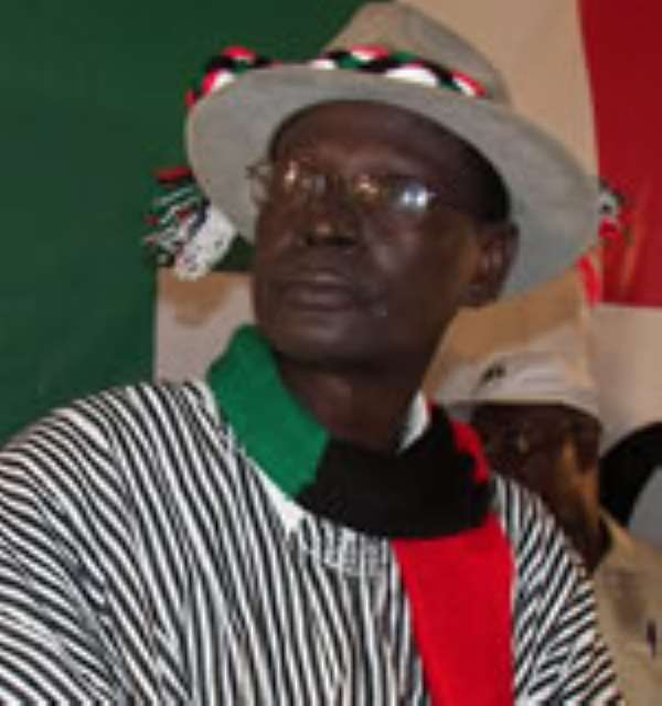 NDC Chairman, Dr. Kwabena Adjei