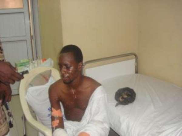 PHOTO: THE LONE BOMBER, SEYI OLAYIWOLA AHMED.