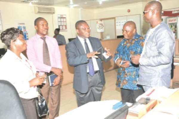 Kosmos Corporate Affairs team visits Graphic