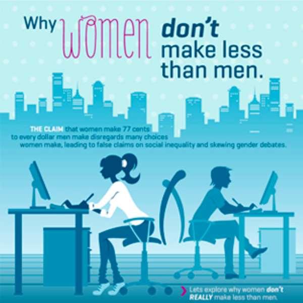 Why Women Don't Make Less than Men