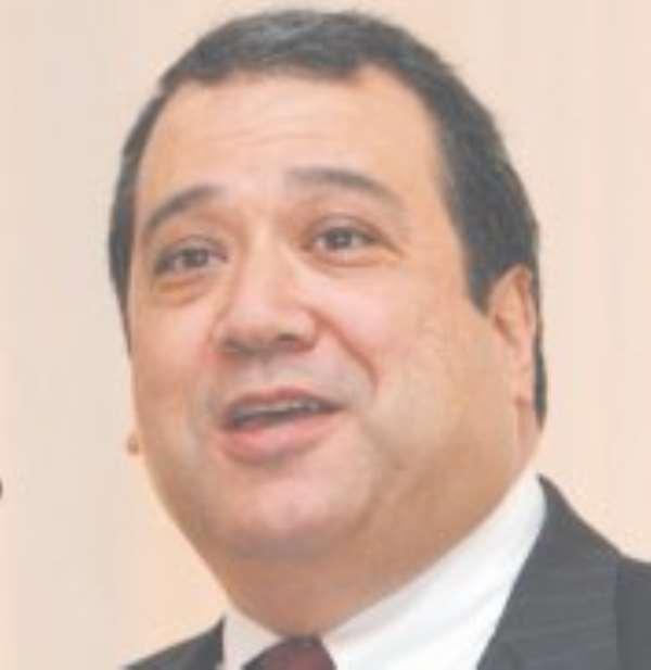 Outgoing US Ambassador to Ghana, Donald G. Teitelbaum