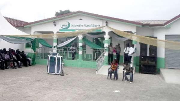 Gomoa Pomadze Microfin Rural Bank inaugurated