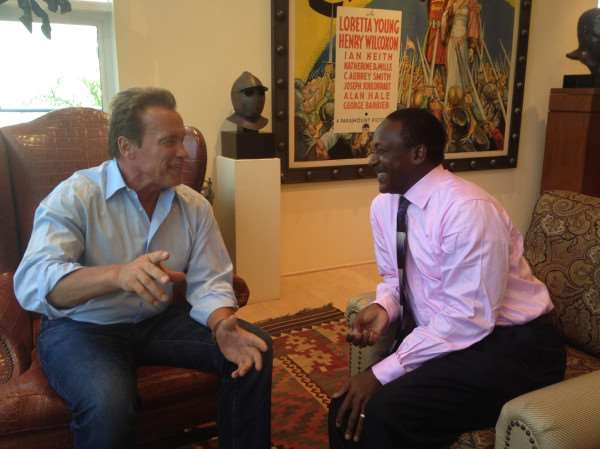 Kandeh Yumkella to join Arnold Schwarzenegger at USC's policy think tank