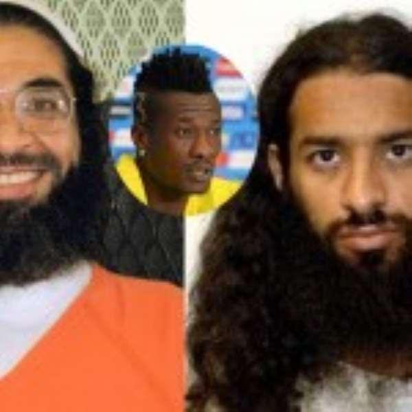 We Love Asamoah Gyan …Say Ex-Gitmo Bay Detainees