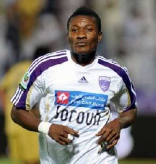 Al Ain's Asamoah Gyan feeds off brotherly advice in quest for Golden Boot